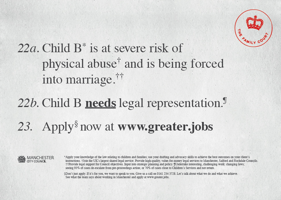 Legal Advert